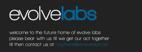 welcome to evolvelabs